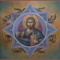 Michael ALEVYZAKIS was born in Rethymno, Crete, in has been involved in painting since with F. Theodosaki and T. Riga as teachers. Byzantine Icons, Byzantine Art, Holy Quotes, Orthodox Icons, Religious Art, Ikon, Fresco, Leeds, Catholic