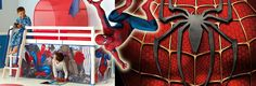 Marvel Spiderman | Spiderman Bedroom with Great Kids Bedrooms