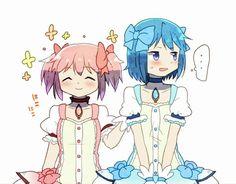 Madoka Magica - Madoka and Sayaka