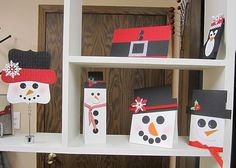 Snowmen display