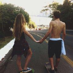 skate relationship goals cuddling