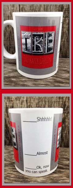 Tau Kappa Epsilon, TKE, college, Coffee Mug, Fraternity,