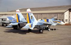 Sukhoi Su-27 57 Ukranian Air Force RAF Fairford