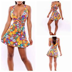 HOT NEW STYLE SEXY 2 PIECE BANDAGE BODYCON CELEBRITY SPAGHETTI STRAP PRINTED BOHEMIANWHOLESALE PRICE DRESSES