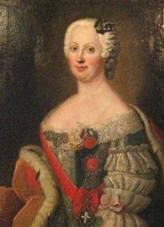 Joanna Elisabeth of Holstein-Gottorp - Antoine Pesne