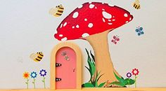 Irish Fairy Door Company, Toadstool Wall Art ** This is an Amazon Affiliate link. Be sure to check out this awesome product.