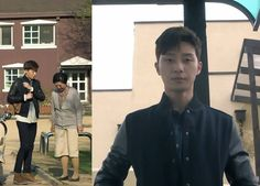Faded Blue Shirt || A Witch's Romance || Park Seo Joon
