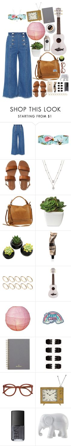 """""""White Elephant"""" by ac-awesome ❤ liked on Polyvore featuring Steve J & Yoni P, Gucci, Aéropostale, Urban Expressions, Aesop, ASOS, Eye Candy, Mulberry, Forever 21 and NARS Cosmetics"""