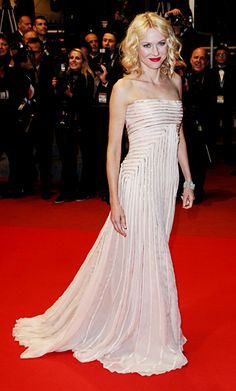 Naomi Watts's Best Red Carpet Looks - In Gucci Premiere, 2010 from InStyle.com