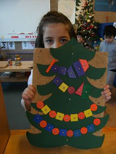 very good idea. Christmas Activities For Kids, Preschool Christmas, Noel Christmas, Winter Christmas, Santa's Little Helper, Holiday Themes, Holiday Decor, Xmas Crafts, Diy For Kids