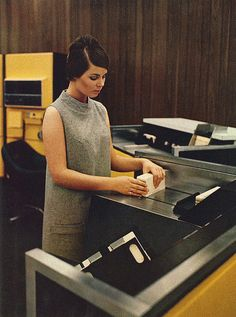 H632 General Purpose Digital Computer System, 1968 by colorcubic, via Flickr