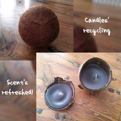 Personal Relationship, Recycling, Candles, Crafts, Manualidades, Candy, Handmade Crafts, Candle Sticks, Upcycle