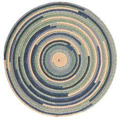 Fabricord® Round Braided Rug, QC05 French Country