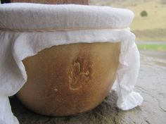Made to order Ceramic Fermenting Crock in Golden by liciapfadt, $35.00