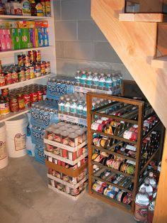 An Old Fashioned Girl: Food Storage Organized!
