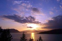 Howe Sound near Squamish, BC