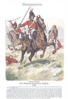 Band III #10.- Hannover: Englisch-Deutsche Legion. Schwere Dragoner. 1812.