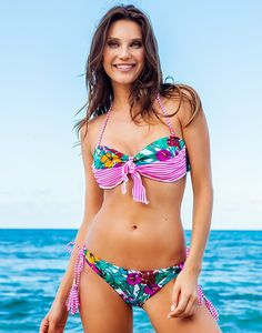 Edrina Bandeau Bikini  - #AdoreMeSpringFling http://adoreme/SpringFling