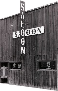 Moose's Saloon in Kalispell, MT. Peanut shells on the floor and the best pizza in the Valley :)