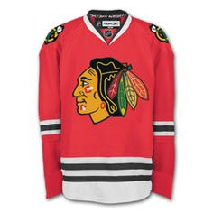 9d990071d Chicago Blackhawks Reebok EDGE Authentic Home NHL Hockey Jersey (Made In  Canada) Bryan Bickell