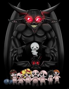 Mom...? by RiotLizard on DeviantArt  From The Binding of Isaac: Rebirth