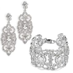 "Must have wedding jewlery by Anna Bellagio :""Natalia"""