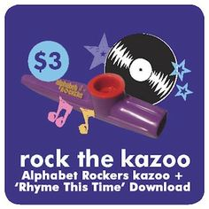 Dunno how we could rock without our kazoos... We have them online for sale and at shows for $3. We're going to rock out with them at every show!