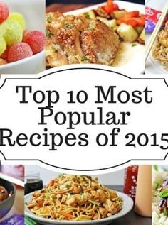 Top 10 Most Popular Recipes of 2015 with a couple desserts a fair amount of copycat recipes and lots of 5 ingredient meals! Easy Marinara Sauce, Homemade Marinara, Casserole Recipes, Crockpot Recipes, Cooking Recipes, Yummy Recipes, Recipies, Baked Red Potatoes, Haddock Recipes