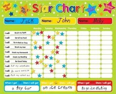 New Dimension Magnetic Star Chart Reward Kids Chore Behavior Childrens Toddler in Toys, Hobbies, Educational Toys, Other Education Toys | eBay!