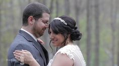 Jessica and Chris: Out in the Poconos Mountains, this rustic wedding was beautiful.  We had a blast filming with this couple and the scenery was breathtaking.
