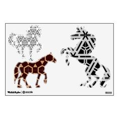 Purchase yourself a bunch of White wall decals from Zazzle! Our wall stickers are great for any room in your home or office! Wall Stickers, Wall Decals, White Walls, Graphics, Horses, Wall Clings, Off White Walls, Charts, Blank Walls