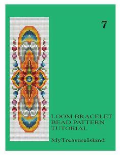 Bead Loom Vintage Motif 5 6 6A 7 Multi-Color by MyTreasureIsland
