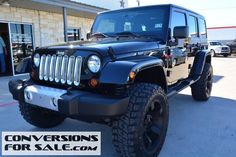 2013 Jeep Wrangler Unlimited Sahara Lifted Jeep