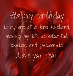Happy Birthday Wishes For Husband _ Romantic Birthday Messages For Husband - My Wishes Club 23 Birthday Quotes, 50th Birthday Messages, Sweet Happy Birthday Messages, Romantic Birthday Messages, Late Happy Birthday Wishes, Happy Birthday Honey, Birthday Wish For Husband, Happy Birthday Quotes, 23rd Birthday
