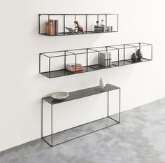 SLIM IRONY Wall Rack by ZEUS.