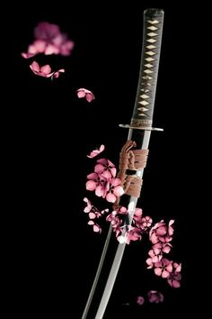 A samurai sword may signify peace as well as battle; samurai would often give a name to his sword as he believed that the sword carried cultural and warrior spirit. Katana Swords, Samurai Swords, Samurai Tattoo, Japanese Sword, Japanese Art Samurai, Japanese Warrior, Art Japonais, Samurai Warrior, Kendo