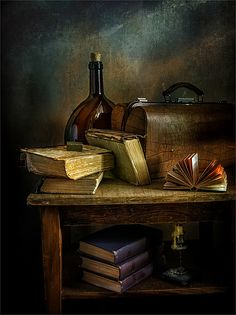 Фотограф Михаил MSH (Mykhailo Sherman) - натюрморт с книгами #1711440. 35PHOTO