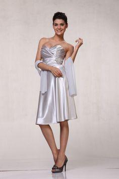 Short Semi Formal Graduation Bridesmaids Classic Party Dress - The Dress Outlet - 6