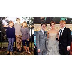 Daniel,Emma,Rupert  Before and After