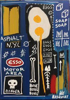 December 10 2017 at from worldintheirart Jean Basquiat, Jean Michel Basquiat Art, Sgraffito, Basquiat Paintings, Basquiat Artist, Arte Punk, Bad Painting, Art Walk, A Level Art