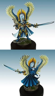 40k - Eldar Autarch by Lan Studio
