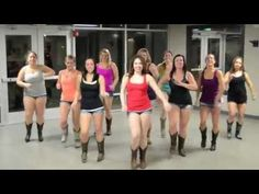 Girl In A Country Song Line Dance - YouTube