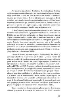 Página 11  Pressione a tecla A para ler o texto da página