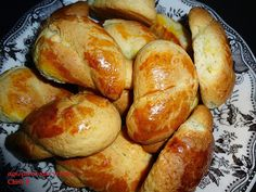 Greek Sweets, Greek Recipes, Pretzel Bites, Cookie Recipes, Biscuits, Food And Drink, Bread, Cookies, Google