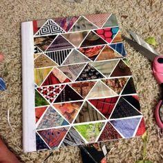 Hopeless Notebook: DIY : Geometric Journal