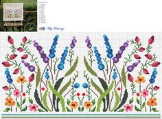 Thrilling Designing Your Own Cross Stitch Embroidery Patterns Ideas. Exhilarating Designing Your Own Cross Stitch Embroidery Patterns Ideas. Cross Stitch Borders, Cross Stitch Flowers, Cross Stitch Charts, Cross Stitch Designs, Cross Stitching, Cross Stitch Embroidery, Embroidery Patterns, Hand Embroidery, Cross Stitch Patterns