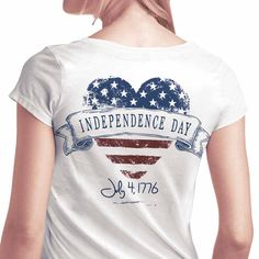 July 4th Tee. Show your independance!