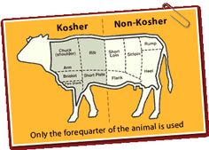 Kosher food is food that meets Jewish dietary laws. You don't need to look for a symbol if the food is obviously non- kosher. Meat and milk or dairy cannot be mixed so a cheeseburger is definitely non- kosher. Fish mush have fin and scales to be considered kosher. Make sure that there are no non- kosher ingredients. Don not forget to check the ingredients of the product you are buy.