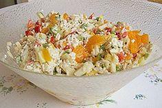 Reissalat mit Mandarinen 1
