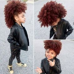 Kool kid Coco Black Hair provide the most natural looking hair and wigs Change yourself today! Ethnic Hairstyles, Afro Hairstyles, Natural Mohawk, Curly Hair Styles, Natural Hair Styles, Ginger Babies, Pelo Afro, Queen Hair, Little Girl Hairstyles